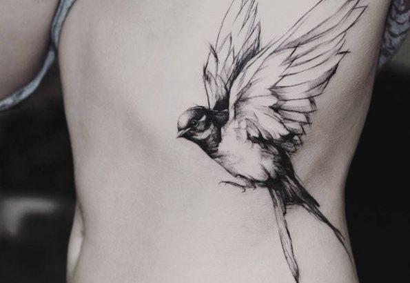 Soyez Inspiree Avec Ce Tatoo Tatouage Cote Oiseau Femme Photo Realiste Retrouvez Tous Les Modeles Significations De Motifs Sur Tatouagefemme Eu Pctr Up